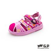 G.P(童)可拆式兩用護趾包頭涼鞋 童鞋-粉(另有藍綠)
