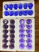 新色永生花玫瑰,3-4公分,單朵價格