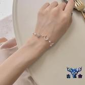 手鏈閨蜜學生簡約星月手飾韓版個性超仙冷淡風個性【古怪舍】