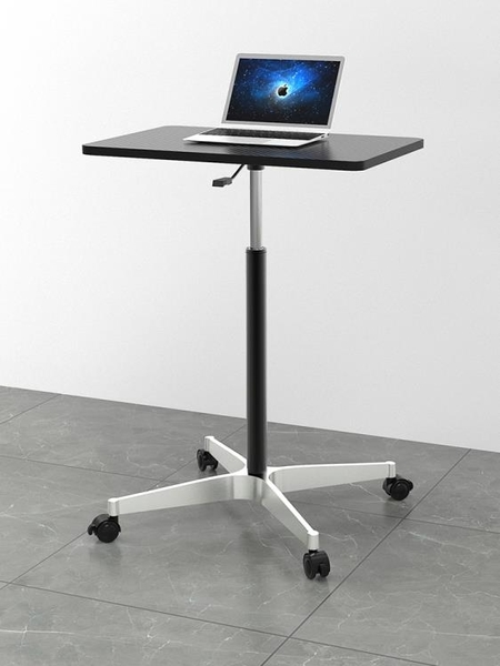 行動升降桌筆記本電腦桌簡易桌辦公書桌站立工作台摺疊小桌子 黛尼時尚精品