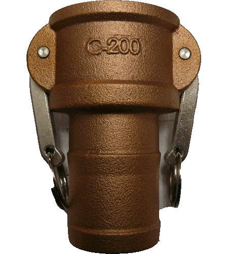 水用快速接頭 C型 2英吋 HOS母插芯 材質:銅 台灣製造