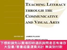 二手書博民逛書店Handbook罕見Of Research On Teaching Literacy Through The Co