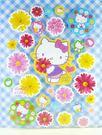 【震撼精品百貨】Hello Kitty 凱蒂貓~KITTY貼紙-浴室貼紙-小雛菊