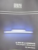 【書寶二手書T4/收藏_JQK】Pierre Berge_Le Sens de la Modernite_12_03_19