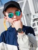 手錶男學生兒童中學生初中生男孩男童小孩子防水運動電子錶指針式  poly girl