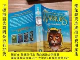 二手書博民逛書店Dawn罕見of the clans warriors thunder risingY179226