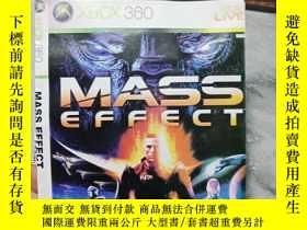 二手書博民逛書店遊戲光盤罕見XBOX 360 MASS EFFECT ( 光盤編
