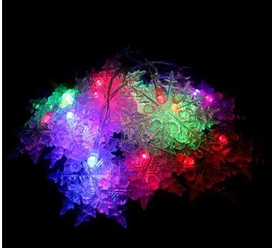 [協貿國際]七彩閃光雪花片LED燈