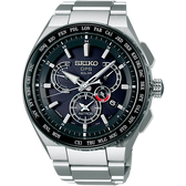 SEIKO精工 ASTRON 雙時區鈦GPS衛星定位手錶 8X53-0AV0D(SBXB123J)