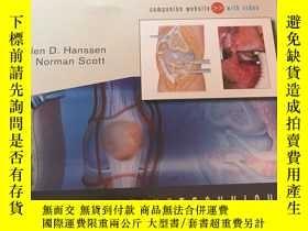 二手書博民逛書店operativetechnioues罕見total knee replacement手術技術全膝關節置換術Y