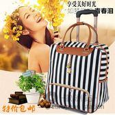 行李箱/PU拉桿包手提行李袋大容量女