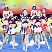 啦啦隊演出服裝啦啦操比賽服健美操服女兒童