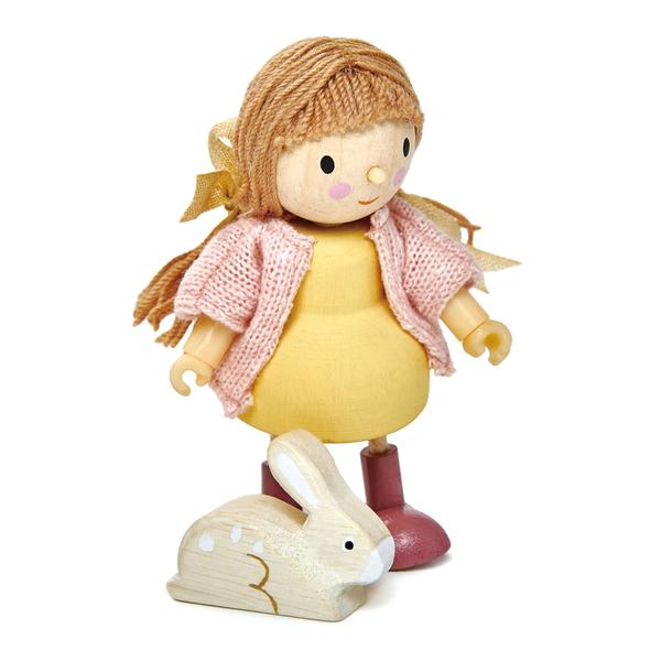【美國Tender Leaf Toys】愛咪與小兔(娃娃屋配件)