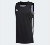 Adidas SPEED REVERSIBLE JERSEY黑色運動背心-NO.DX6385