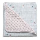 嬰兒毯 嬰兒被 Bebe Au Lait - 雙面細棉嬰兒毯 - Little Owl + Tinsley 款 (1入) # SBMOT