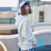 ❖ Hot item ❖ 寬版休閒連帽T恤 - earth music&ecology