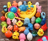 全館83折 小黃鴨洗澡玩具捏捏叫小鴨子洗澡鴨子玩具寶寶洗澡玩具戲水玩具