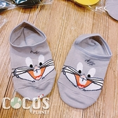 華納 樂一通 防滑短襪 船型襪 踝襪 止滑隱形襪 襪子 短襪 隱形襪 兔巴哥款 COCOS SO040