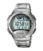【CASIO宏崑時計】CASIO卡西歐不鏽鋼十年電池電子錶 W-753D-1A 100米防水 台灣卡西歐保固一年