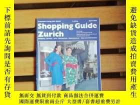 二手書博民逛書店德文原版:Shopping罕見Guide Zurich April 1989(蘇黎世購物指南 1989年4月)