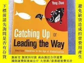 二手書博民逛書店Catching罕見Up or Leading the Way: