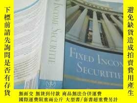 二手書博民逛書店FIXED罕見INCOME SECURITIESY212829