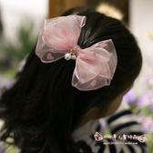 髮飾 韓國兒童發夾高檔蕾絲蝴蝶結寶寶公主飾品女童頭飾發飾發卡 歐雷爾藝術館