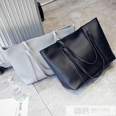 2019韓版新款女包單肩包韓版時尚休閒大容量手提包托特包 韓慕精品