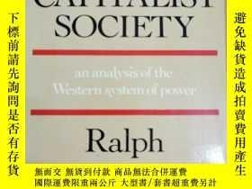 二手書博民逛書店英文原版:THE STATE罕見IN CAPITALIST SOCIETYY367822 Ralph