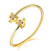 【5折超值價】時尚精美精緻特色圖案造型鈦鋼手環