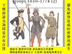 二手書博民逛書店Colonial罕見American Troops 1610–1774 (2) MAA 372 (damaged)