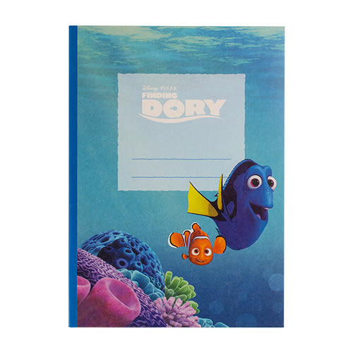 《sun-star》海底總動員2:多莉去哪兒 B5膠裝筆記本(電影場景)★funbox生活用品★_UA49591