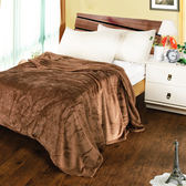 【03133】 【夢工場】摩卡棕法蘭絨毯