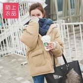 羽絨外套短款 冬季棉襖女 新款面包服短款ins棉衣學生韓版bf原宿風羽絨棉服 新年禮物