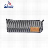 【COLORSMITH】DE.條紋鉛筆袋.DE1042-BW