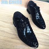 皮鞋黑色正裝尖頭皮鞋男士英倫商務休閒鞋婚鞋增高男鞋