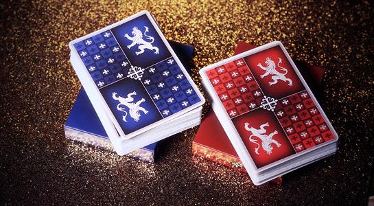 【USPCC 撲克】Heraldry Deck  PLAYING CARDS  Sanguine 血紅盛典/Azure 碧藍盛典