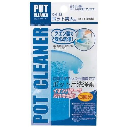 日本 不動化學  熱水瓶 洗淨劑 水垢清洗 15g 3入【1829】