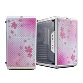 【櫻花風格限定版】 Cooler Master 酷媽 Q500L 白色 透明側板 磁吸式防塵濾網設計 ATX 機殼 (Q500L-KANN-SJP)