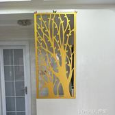 雕花板鏤空屏風隔斷客廳裝飾實木花格吊頂背景墻現代PVC高密度板 NMS 樂活生活館