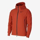 Nike NP TF Thrma Sphr WVN JKT 男款 咖啡橘 連帽 運動 慢跑 外套 CU7347-895