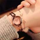 手錶女學生韓版簡約時尚 流ulzzang小巧大氣休閒時裝手鍊式女表