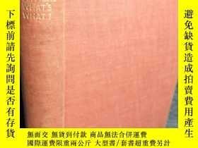 二手書博民逛書店1945年罕見EVERYBODY S POLITICAL WHAT S WHAT? BY BERNARD SHAW