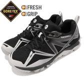 Merrell 戶外鞋 MQM Edge GTX 黑 灰 Gore-Tex 防水 越野 休閒鞋 運動鞋 男鞋【PUMP306】 ML76659