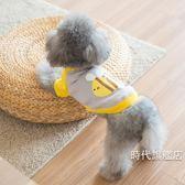 泰迪狗狗衣服冬裝比熊衛衣 博美小狗寵物服飾秋裝幼犬貓咪夏裝1 件