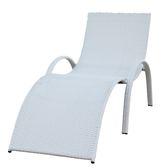 戶外躺椅藤編躺椅休閒椅沙灘椅躺遊泳池椅子躺床折疊午息椅庭院椅