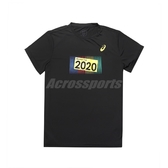 Asics 短袖T恤 2020 Olympic Tee 黑 黃 男款 短T 奧運系列 運動休閒 【PUMP306】 K1200290