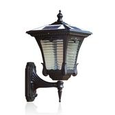 太陽能戶外燈別墅庭院燈防水室外太陽能電燈家用花園路燈大門壁燈