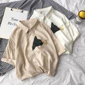 夏季新款男士韓版潮流襯衫T恤寬