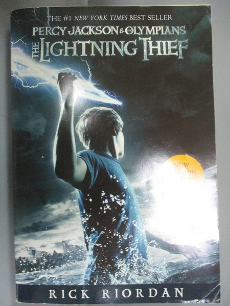 【書寶二手書T4/原文小說_IHN】The Lightning Thief_Rick Riordan, Rick Rio